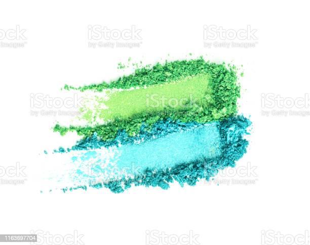Green and blue eye shadow set isolated on white picture id1163697704?b=1&k=6&m=1163697704&s=612x612&h=24foh9zd guj315c4nqu1kxg6ga7lbv4yandgsm8yia=