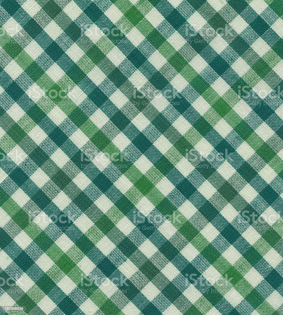 green and blue tablecloth royalty-free stock photo
