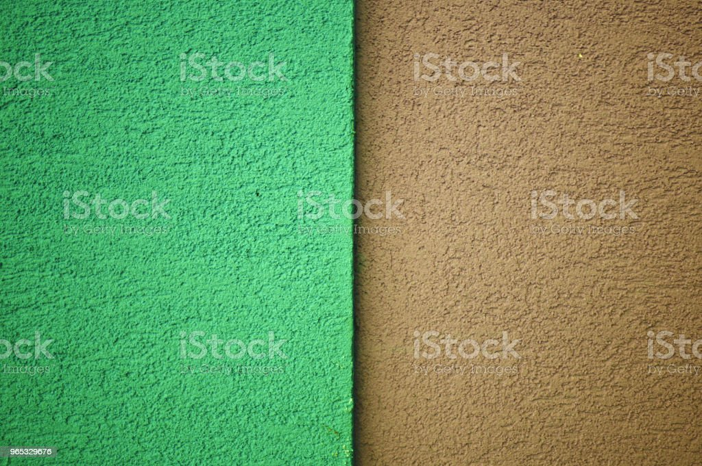 Green and Brown Concrete Tile Floor, Wall, Fence royalty-free stock photo