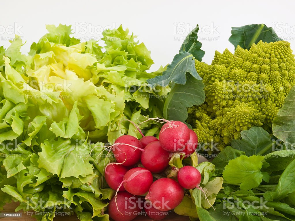 Green and red vegetable royalty-free stock photo
