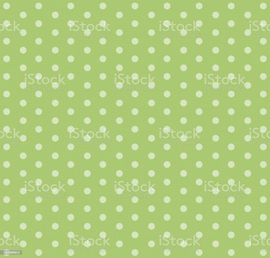 Green and White Dots royalty-free stock photo