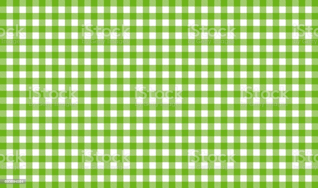 Green and white tablecloth tablecloth background stock photo