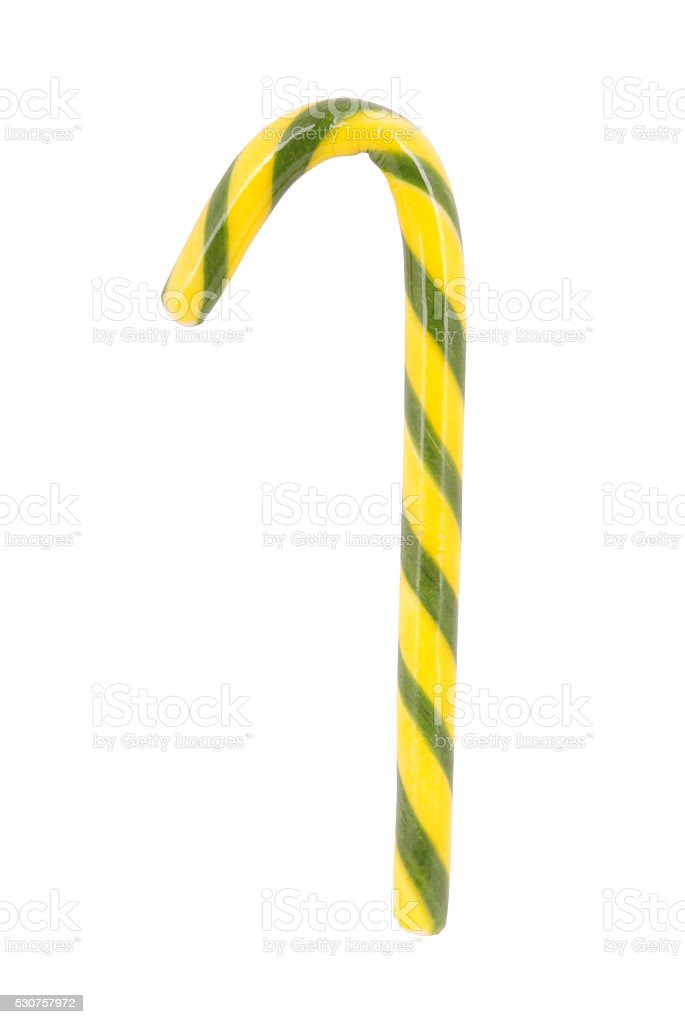 Green and yellow candy sweetmeat stock photo