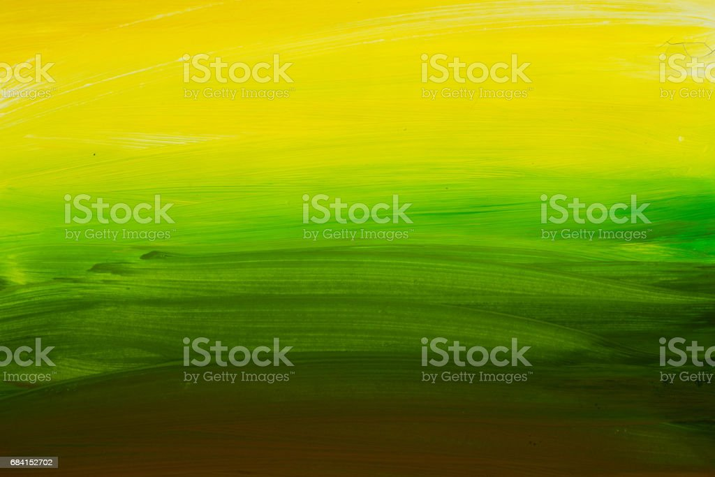 green and yellow painted background texture foto stock royalty-free