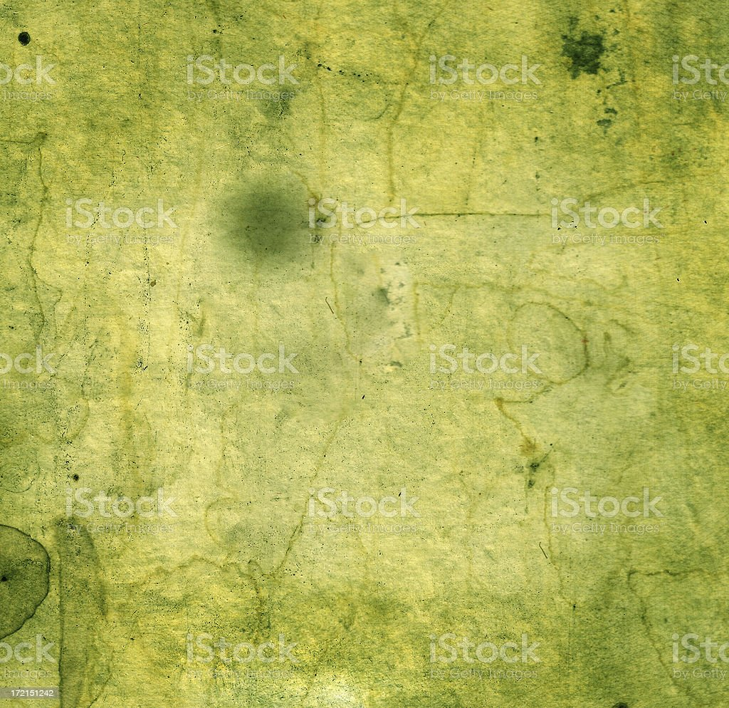 Green Antique Paper Background Image royalty-free stock photo