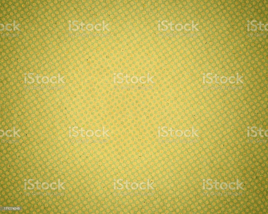 green antique paper with halftone royalty-free stock photo