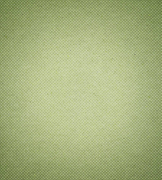 green antique paper with halftone - grainy stock photos and pictures