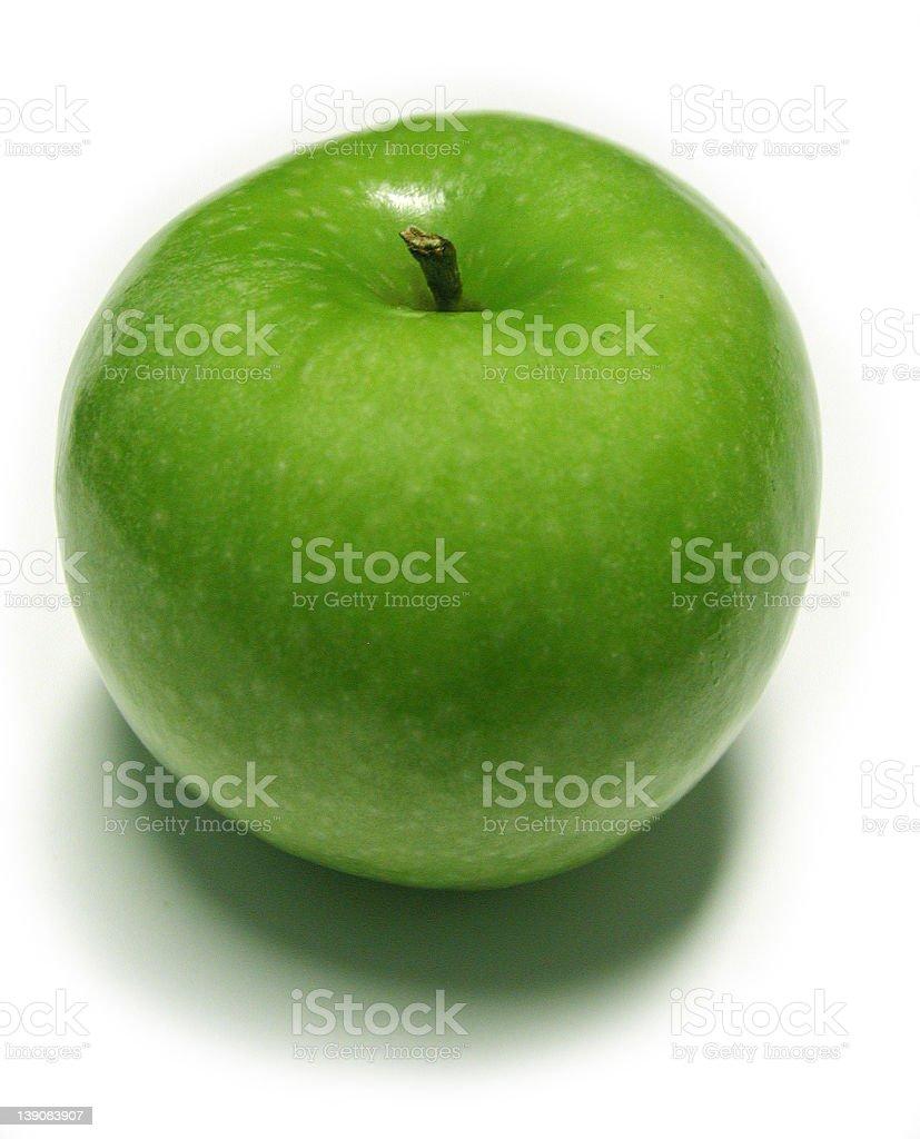Green Apple 2 royalty-free stock photo