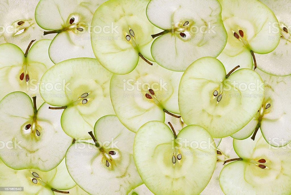 Grüner Apfel Hintergrund – Foto