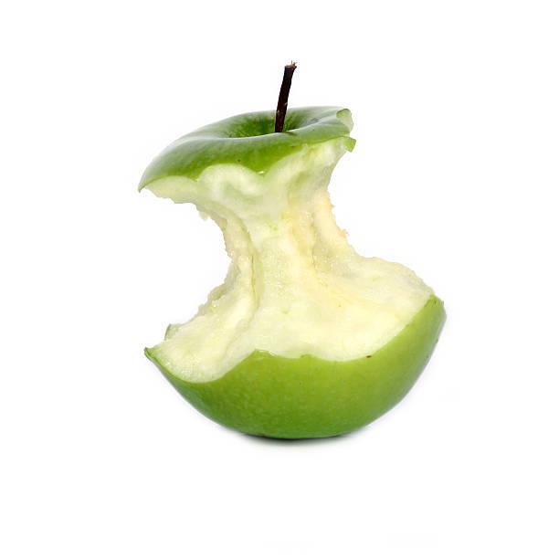 grüner Apfel-Kern – Foto