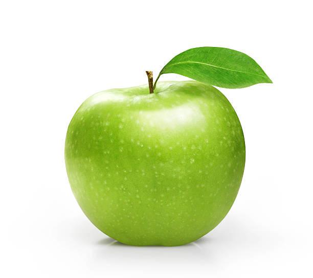 Cтоковое фото Зеленое яблоко