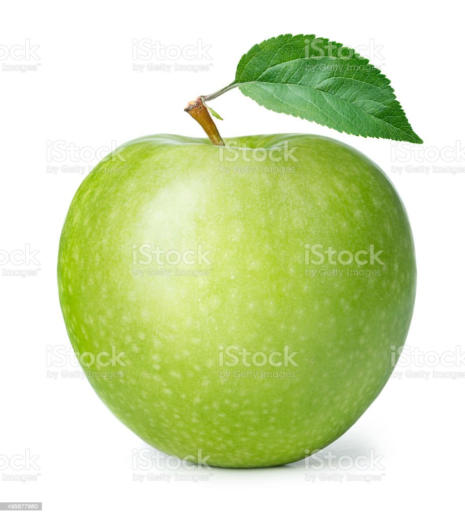 Green apple - foto de stock