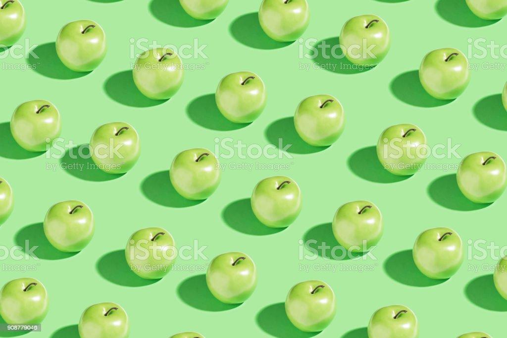 Green apple foto de stock libre de derechos
