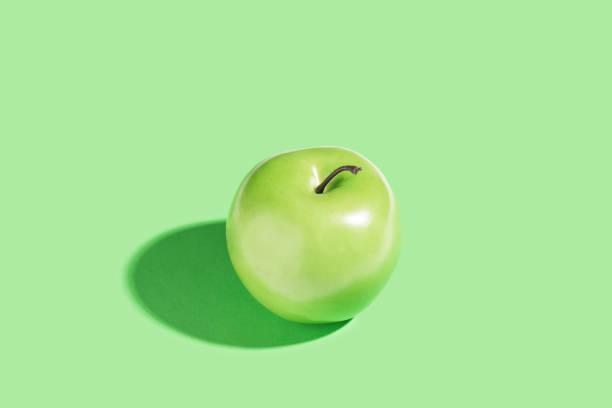Green apple - foto de stock