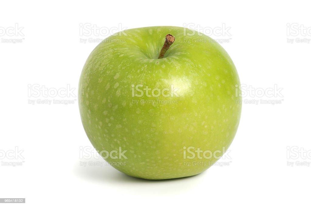 Green apple zbiór zdjęć royalty-free