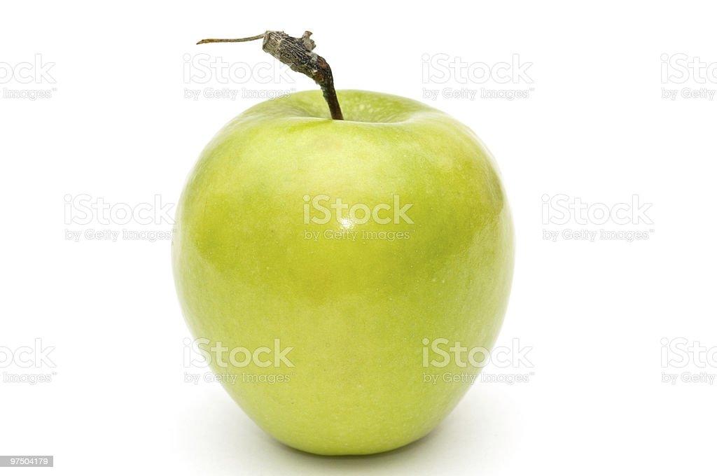 Green apple. royalty-free stock photo