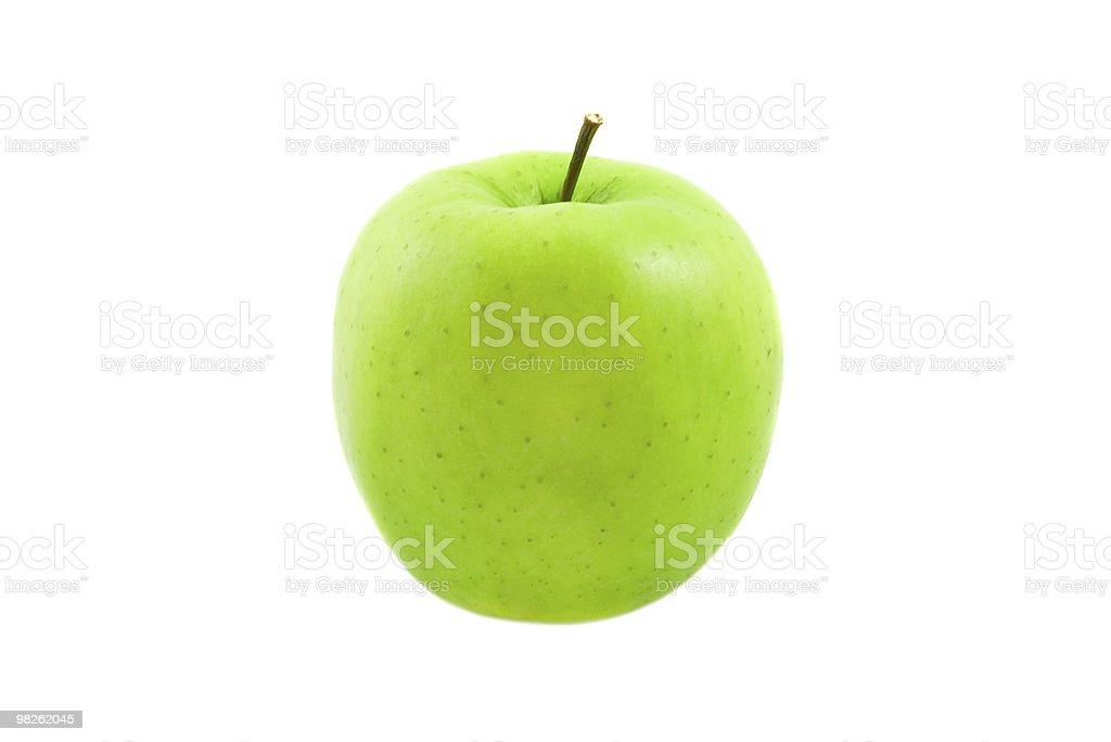Mela verde foto stock royalty-free