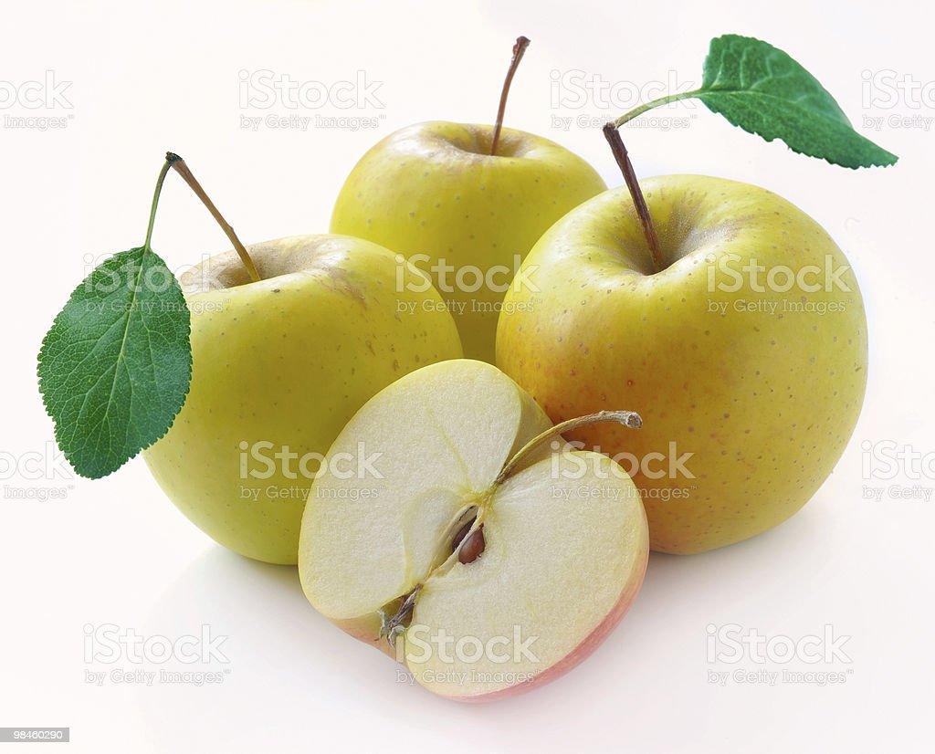 녹색 사과들 royalty-free 스톡 사진