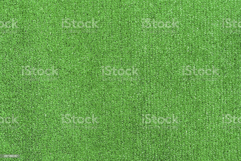Green artifical turf stock photo