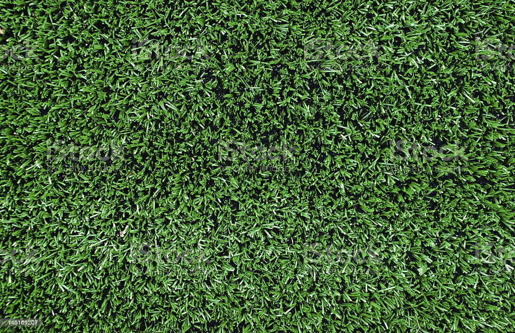 Green Artificial Astro Turf stock photo