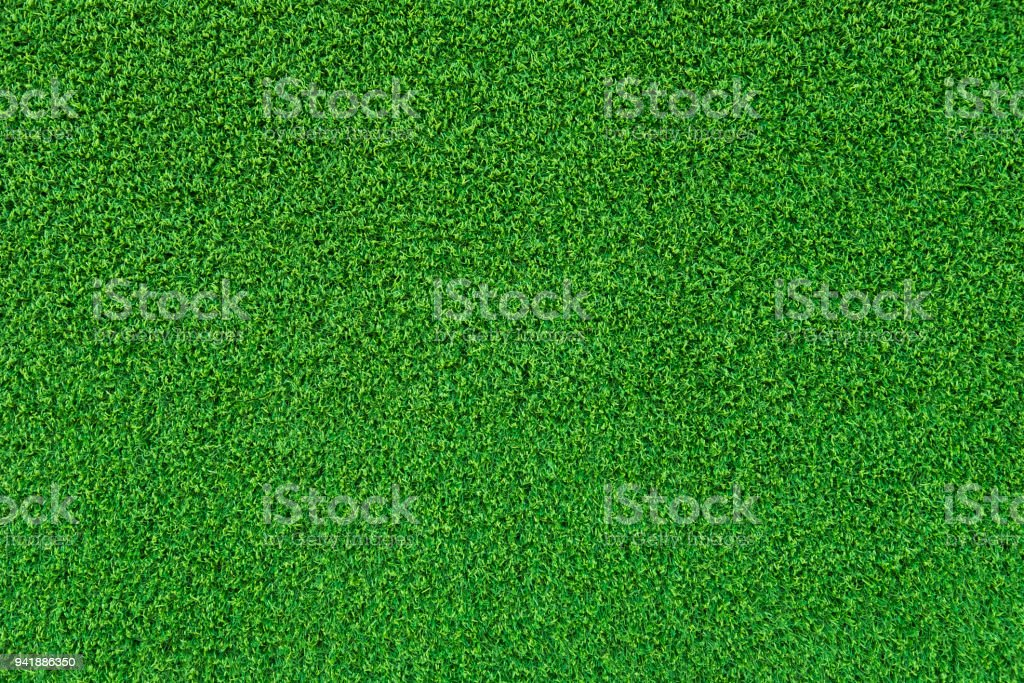Grünen Kunstrasen Oberfläche Hintergrundtextur. – Foto