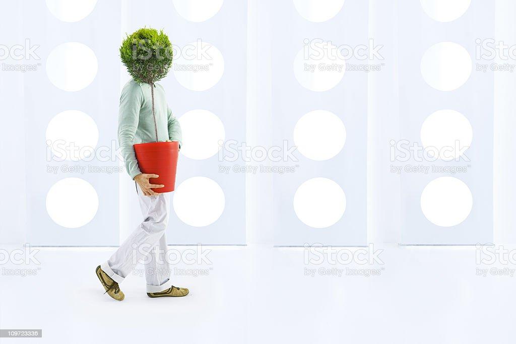 Green attitude royalty-free stock photo