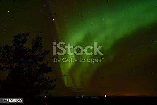 Aurora Boreal en Jättiläisenmaa, Finlandia