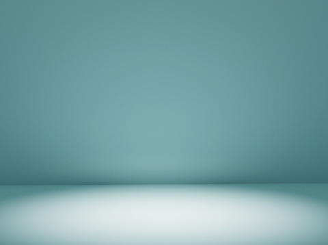 Green background 3d render.