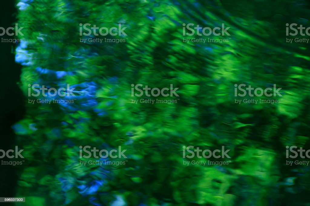 green background abstract water surface royalty-free stock photo