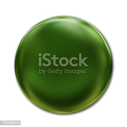 1094574474 istock photo Green Badge Isolated Over White Background 529096445