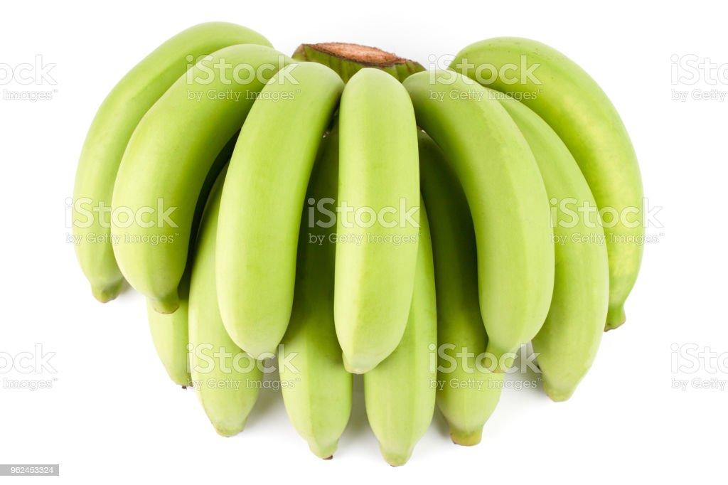Banana verde Comp. - foto de acervo