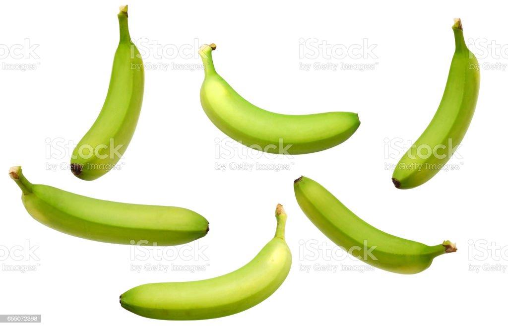 Verde de banana - foto de acervo