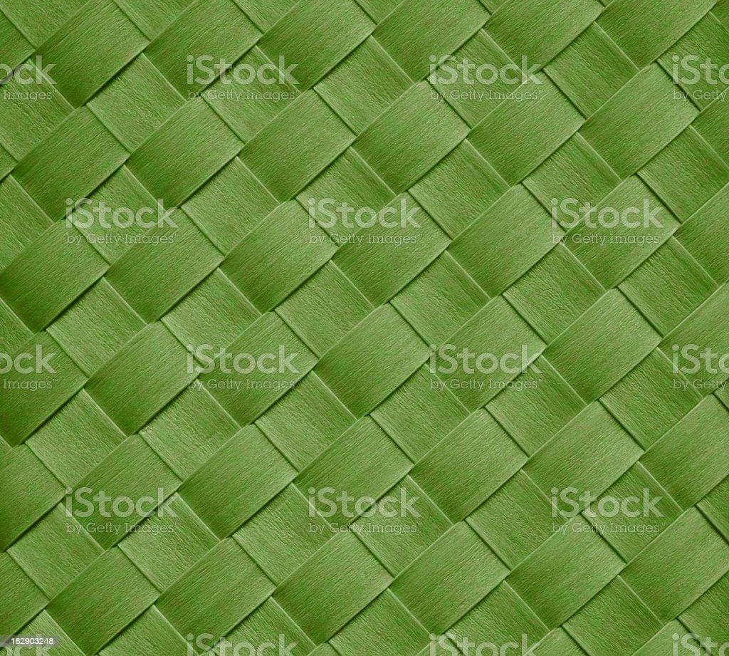 green basket royalty-free stock photo