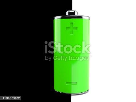 istock Green battery 1131873152