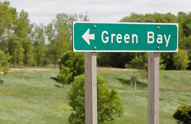 green bay - green bay wisconsin stock photos and pictures