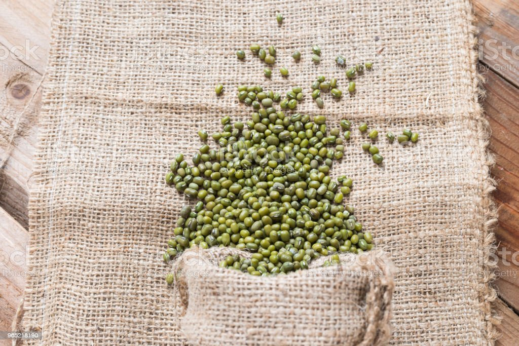Green bean or mung bean background zbiór zdjęć royalty-free