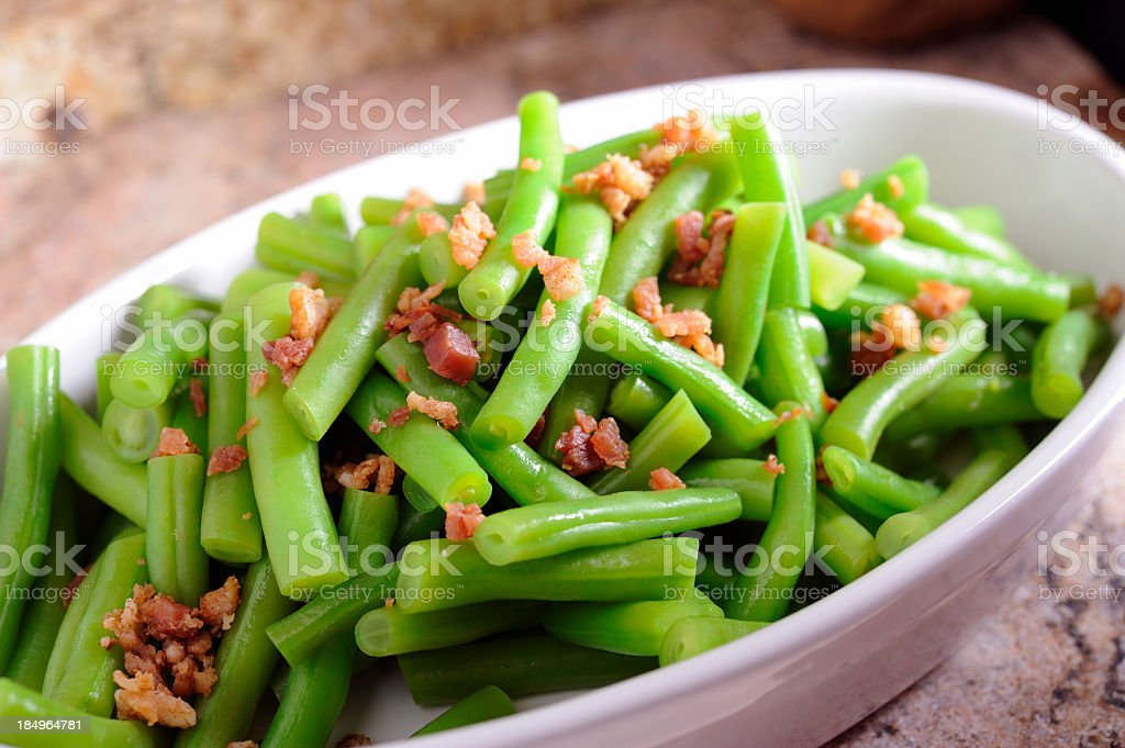 Green Bean royalty-free stock photo