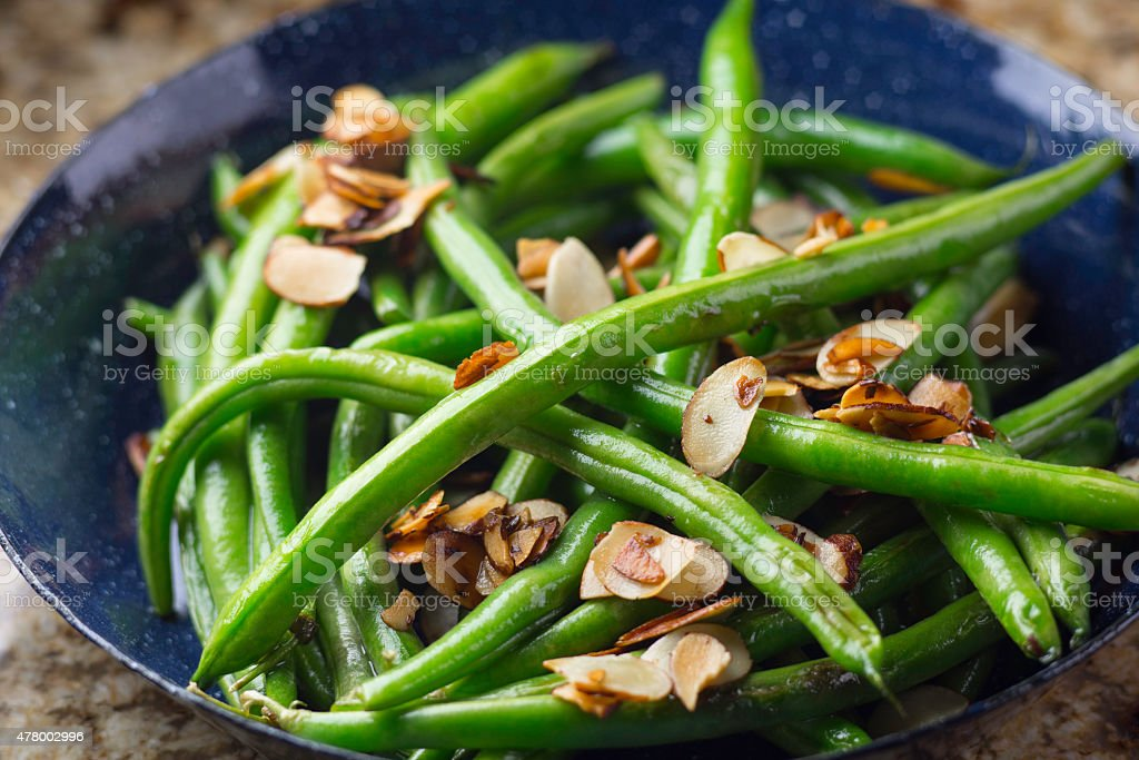 Green Bean stock photo