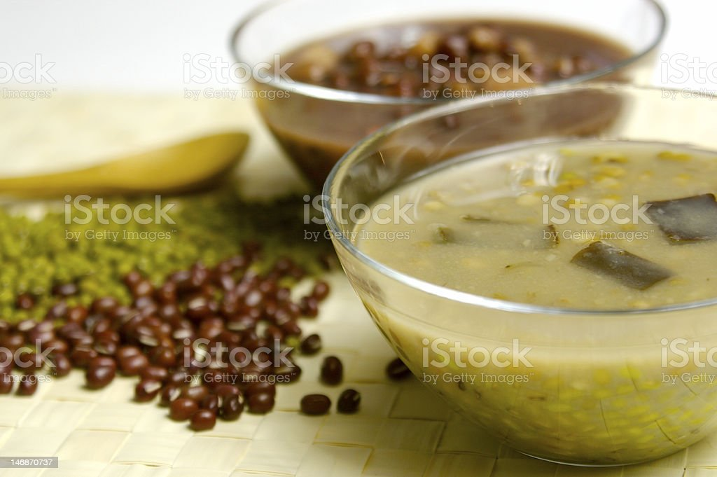 Green Bean Soup stock photo