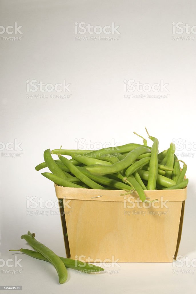 Grüne Bohnen Lizenzfreies stock-foto