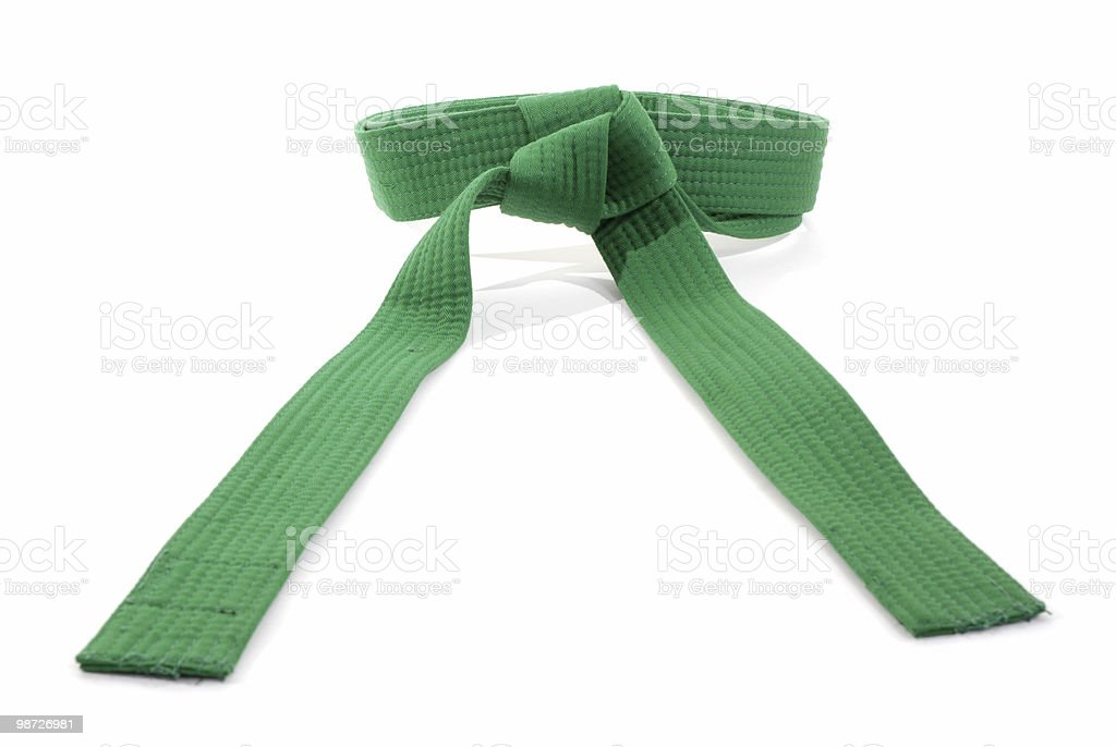 Green belt royalty-free stock photo