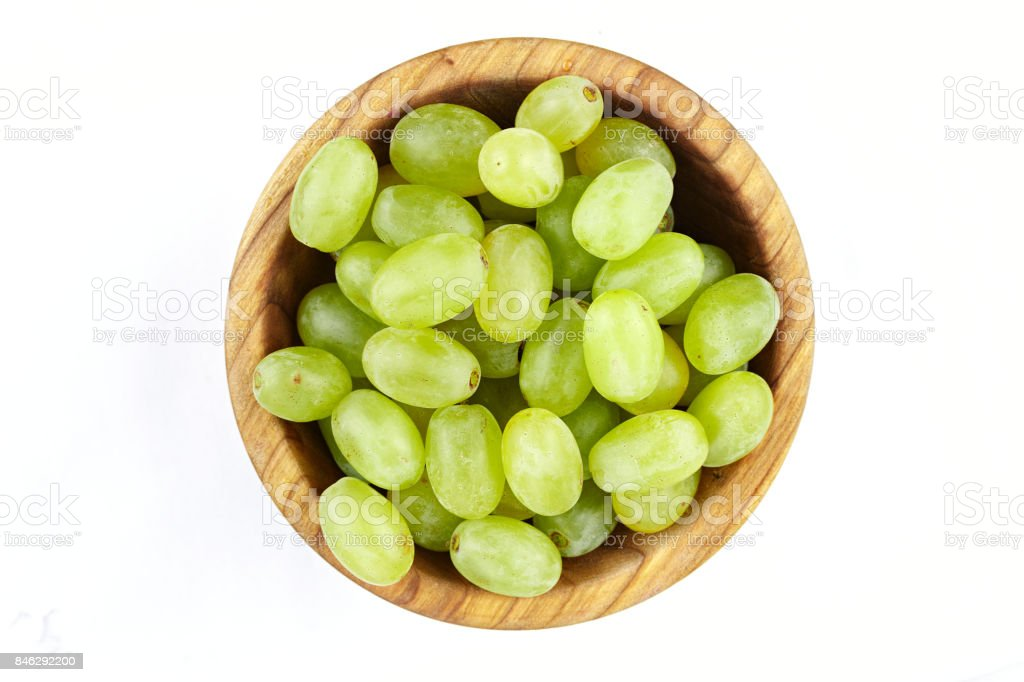 green berries of grapes stock photo