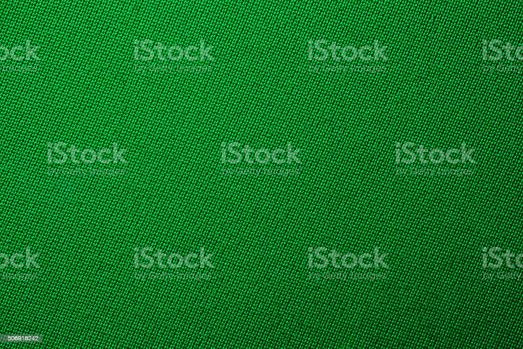 green biliard cloth color texture close up stock photo