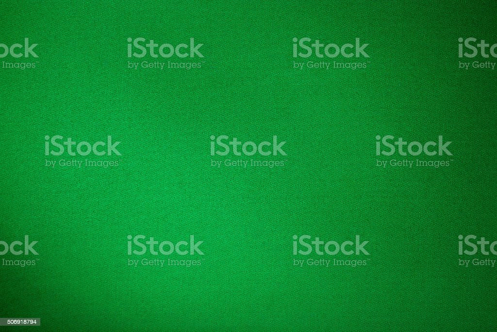 Grüne Biliard Tuch Farbe Struktur Nahaufnahme – Foto