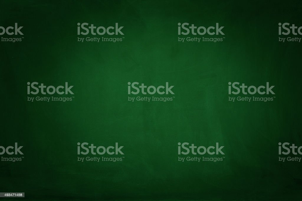 Green blackboard stock photo