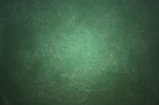 Bunte leere grüne Tafel – Foto
