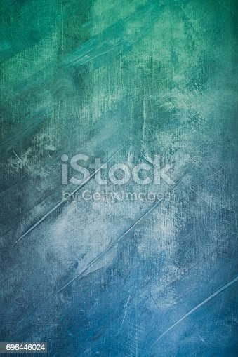 649470770 istock photo green blue abstract art painting background 696446024