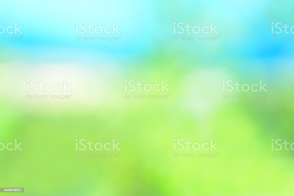 Green blurred background stock photo