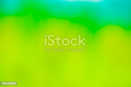 istock Green blurred background. 934566592