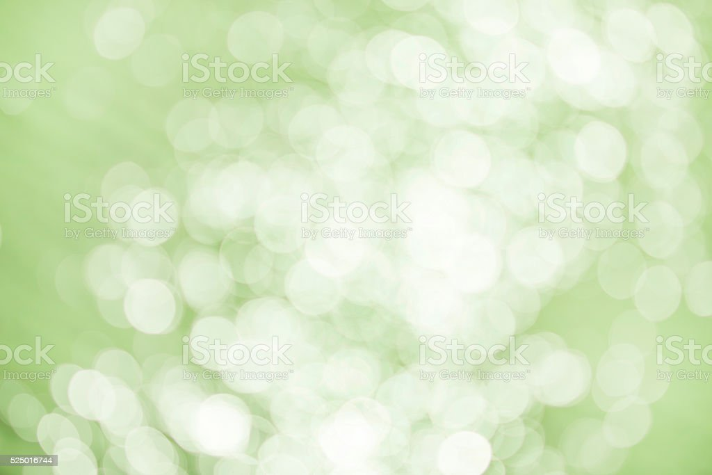 Green bokeh abstact background texture stock photo